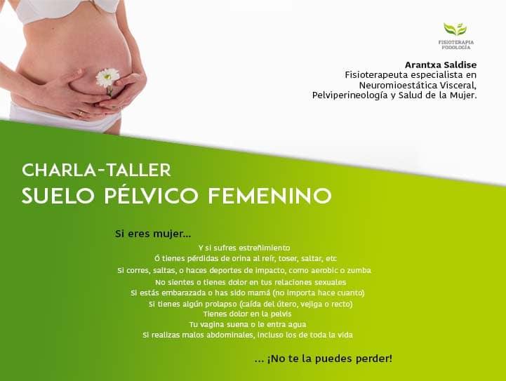 Charla Suelo Pélvico Femenino