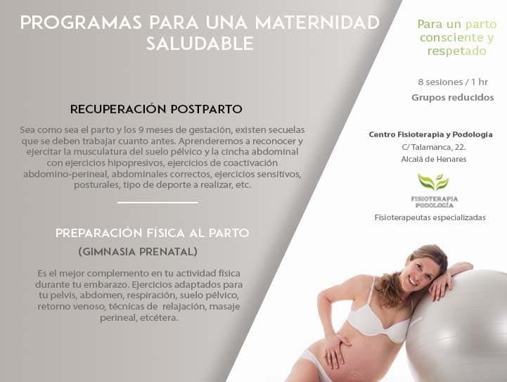 Programas para una Maternidad Saludable